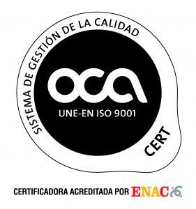 certificado calidad 9001